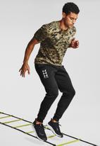 Under Armour - Ua rival fleece multilogo joggers - black