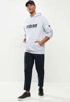 urban° - Mens urban  sweater pullover hoody - grey