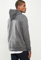 urban° - Mens urban  sweater pullover hoodie - dark grey