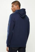 urban° - Mens urban  sweater pullover hoodie - navy