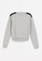 Gloss - Girls rock sweatshirt  - grey