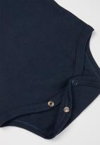 UP Baby - Baby short sleeve baby grow - dark blue