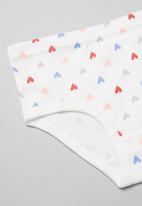 POP CANDY - Girls hearts & mermaid 3 pack underwear - multi