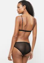 Nette Rose - Pepper bikini knicker - black