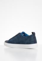 POLO - Hank tonal contrast sneaker - navy