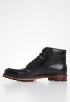 POLO - Dean leather chukka boot - black