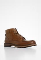 POLO - Dean leather chukka boot - tan