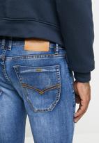 Jonathan D - 5 pocket skinny fit denim jeans - mid blue