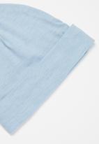 POP CANDY - 3 pack top, pants & bib set - white & baby blue 1