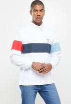 Converse - Todd snyder converse long sleeve rugby - white