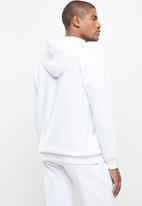 Ben Sherman - Cat zip sweat top - white