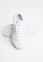 FILA - Classic border 2 mm sneakers - white & pink