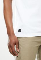 JEEP - Smith short sleeve logo tee - white
