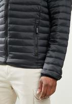 JEEP - Nylon puffer jacket - black