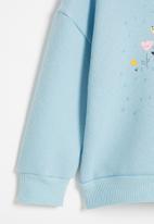POP CANDY - Girls unicorn crewneck - blue