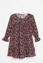 Superbalist Kids - Younger girls peplum dress - ditsy floral
