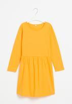 POP CANDY - Girls long sleeve dress - mustard