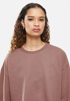 Blake - Cropped sweater - cognac