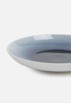 Galateo - Ombre cobalt side plate set of 4-cobalt blue