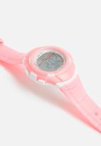 Cool Kids - Digital mid-size 30m watch - pink