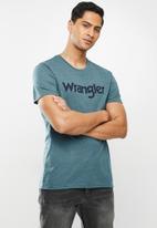 Wrangler - Kabel tee - blue