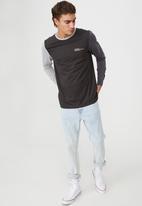 Cotton On - Tbar long sleeve t-shirt - multi