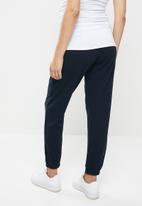 Missguided - Maternity 90s joggers - navy