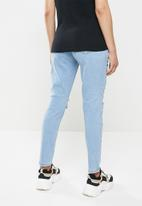 Missguided - Maternity riot ripped comfort stretch - blue