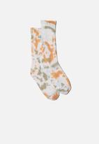 Typo - Staycation sock - multi