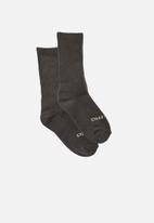Typo - Staycation sock - black