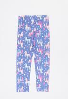 POP CANDY - Girls unicorn legging - lilac