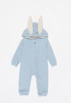 POP CANDY - Bunny ears romper - baby blue