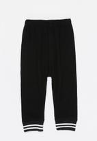 POP CANDY - Basic jogger - black