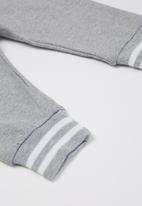 POP CANDY - Basic jogger - grey melange