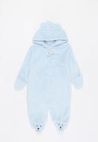 POP CANDY - Hooded sleepsuit - blue