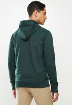 JEEP - Lennox logo hooded pullover - green