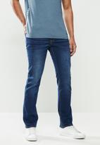 JEEP - Pablo core straight leg jeans - blue