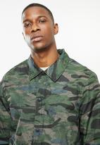 JEEP - Kip regular length coach jacket - camo