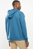 JEEP - Lenny logo hooded pullover - storm