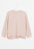 Superbalist - Girls knitted long sleeve top - light pink