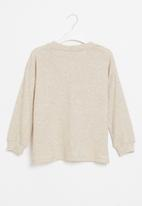Superbalist - Girls knitted long sleeve top - oatmeal