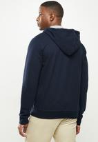 Nautica - Anchor full zip hoodie - navy