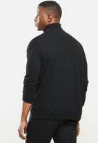 Nautica - French rib 1/4 zip - black