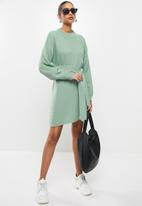 Glamorous - Knit dress - sage
