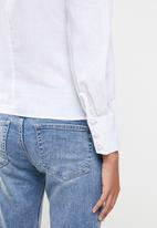 Glamorous - Vneck blouse - white