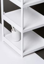Litem - Myroom multipurpose rack - white