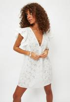 Trendyol - Beyaz dress - white
