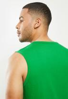 NBA - Celtic green retro vest (straight hem)  - cotton single jersey - green