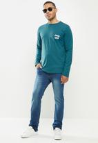 JEEP - Pablo core straight leg jeans - medium blue