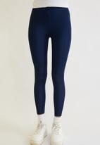 Trendyol - Bright disco knit tights - navy